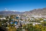 Blick auf Lhasa