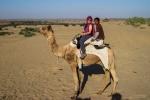 Marsi, ihr Kamel und der Kamelführer