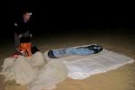 Nachtlager in der Wüste