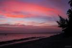 Sonnenuntergang an Silvester