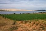 Lotussee mit White Sand Dunes