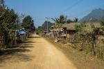 Dorf bei Vang Vieng