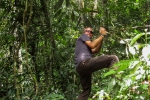 Daniel beim Dschungel-Trek