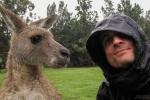 Daniel mit Känguru
