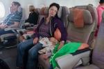 Sitzreihe im A380