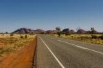 Straße zu Kata Tjuta