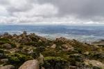 Felsen auf dem Mount Wellington