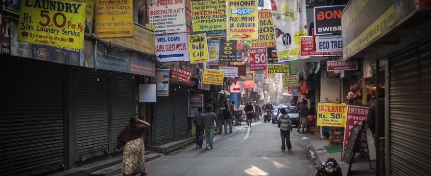 Gewusel in Kathmandu