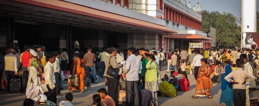 Zug nach Delhi