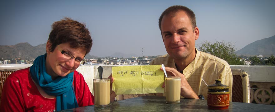 Marsi & Daniel in Pushkar