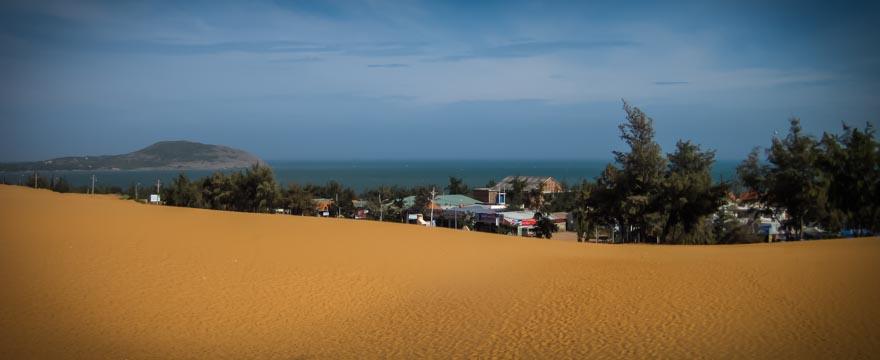 Red Sand Dunes in Vietnam