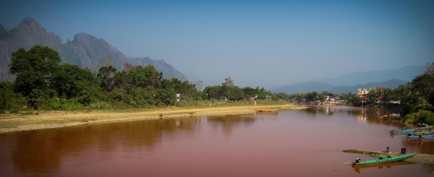 Vang Vieng Fluss