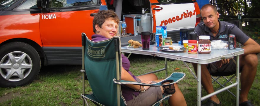 Typischer Tagesablauf im Camperleben
