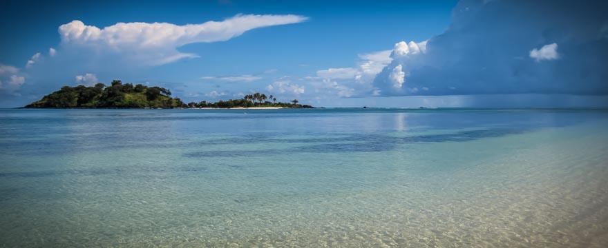 Einsame Insel Fidschi