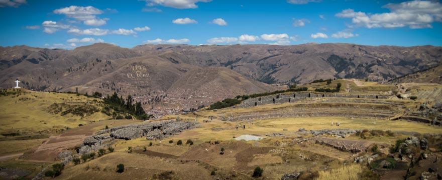 Inka Ruinen Sacsayhuaman