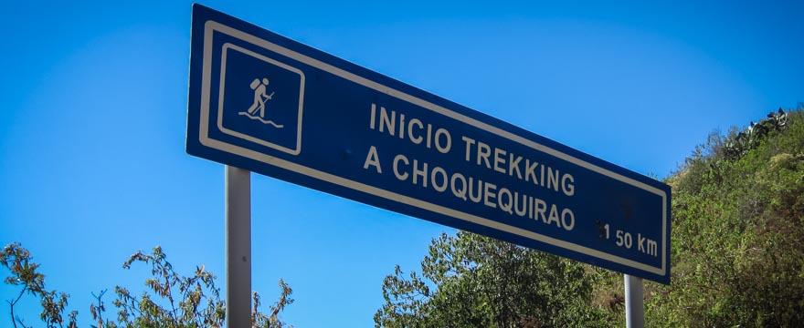 Choquequirao-Trek nach Machu Picchu