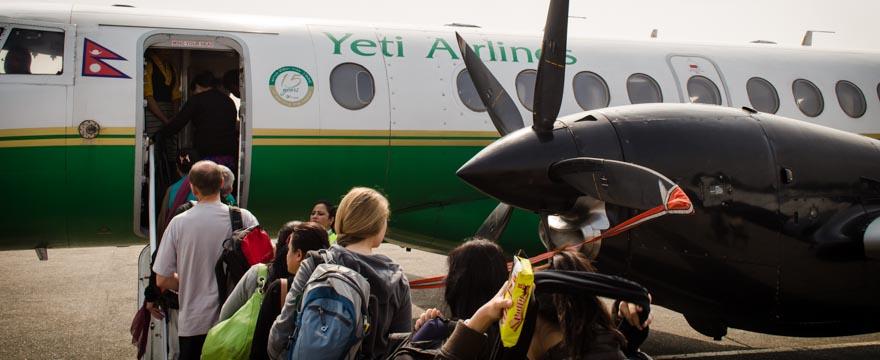 Weltreise Statistik: Yeti Airline