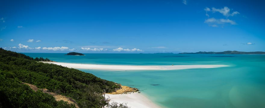 Weltreise Panorama Bilder: Whitsunday Islands