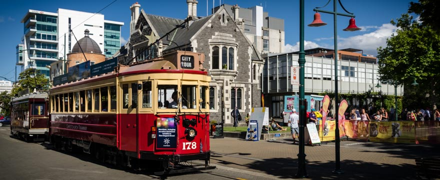 Christchurch City Tram