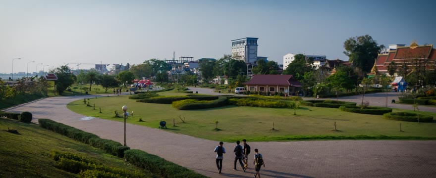 Park in Vientiane