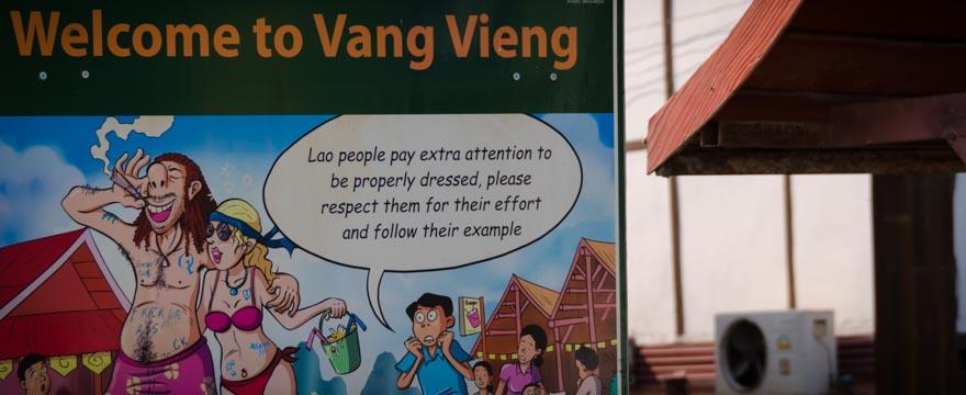 Verhaltensregeln für Südostasien