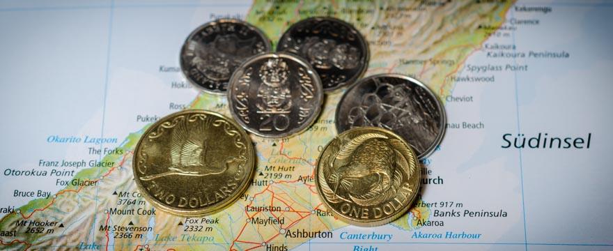 Kostenübersicht für Neuseeland