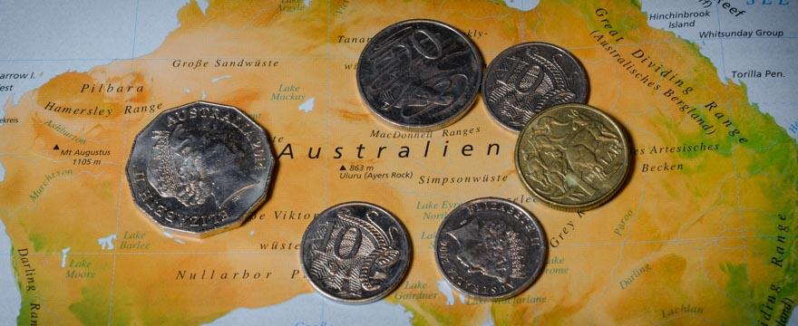 Kostenübersicht Australien