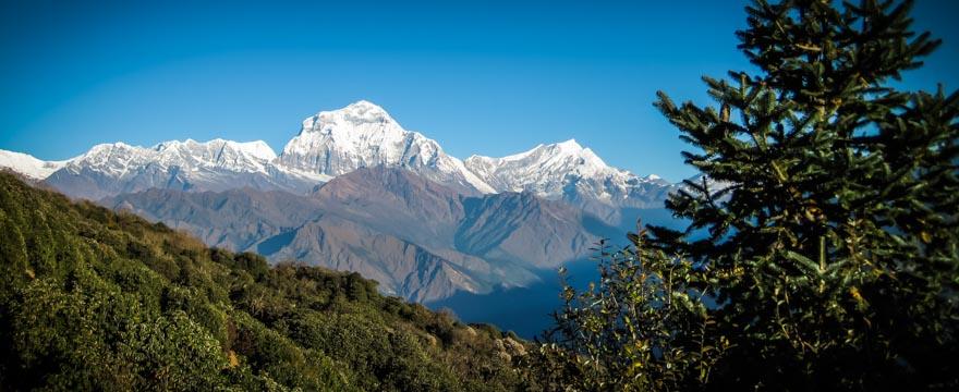 Unterwegs zum Annapurna Base Camp
